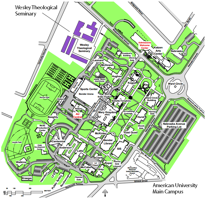 Au Campus Map Compressportnederland