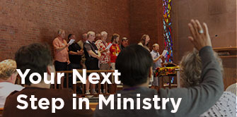Your Next Step in Ministry communion Course of Study