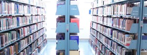 Image: library stacks