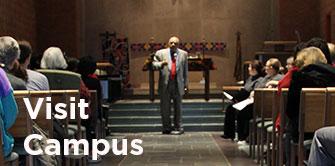 Image: chapel preaching