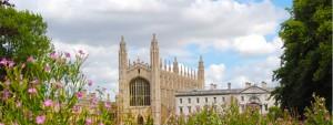 Image: photo of Cambridge University building