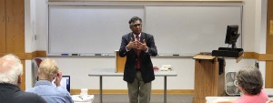Dr Sathi Clarke teaching