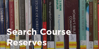 Search course reserves