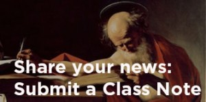 Share your news submit a class Note