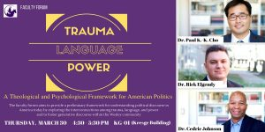 Trauma forum
