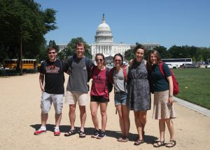 Undergrads explore intersection of faith and public life during new