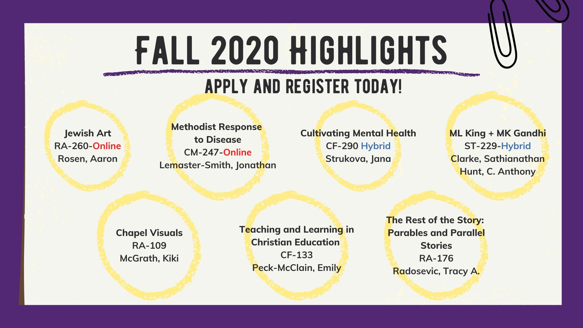 Fall 2020 Course Highlights_6.17