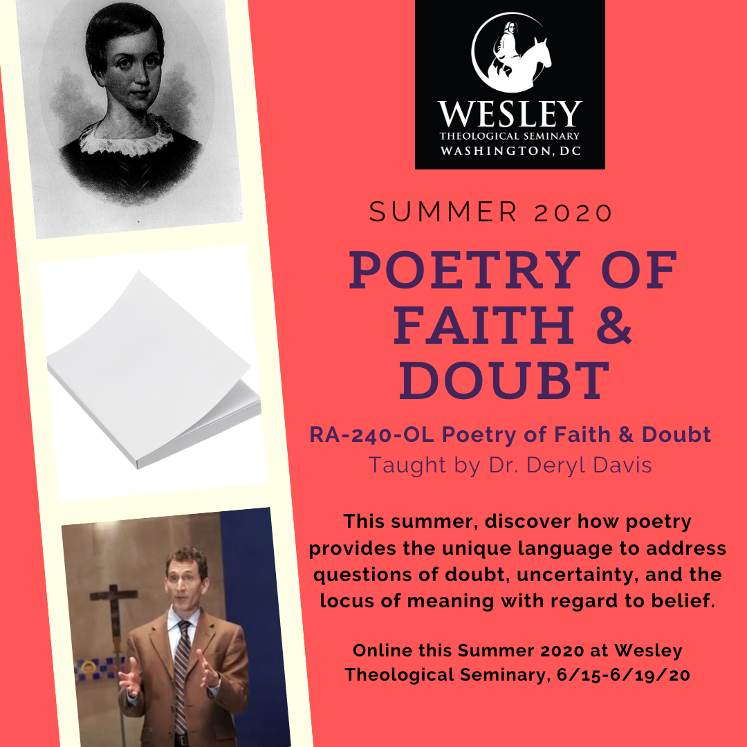 Summer 2020 Course Promo - Poetry of Faith and Doubt