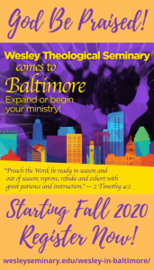 Wesley Baltimore Graphic