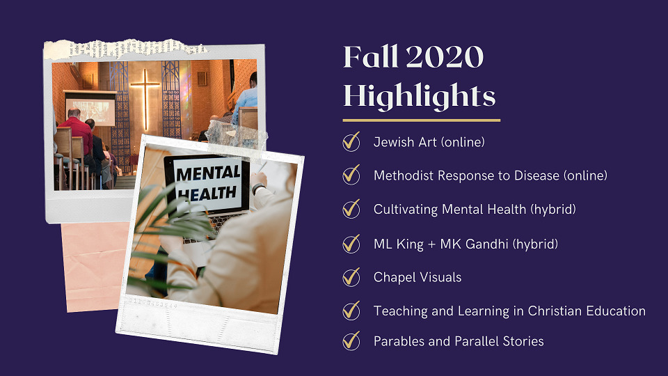Fall 2020 Courses Highlights