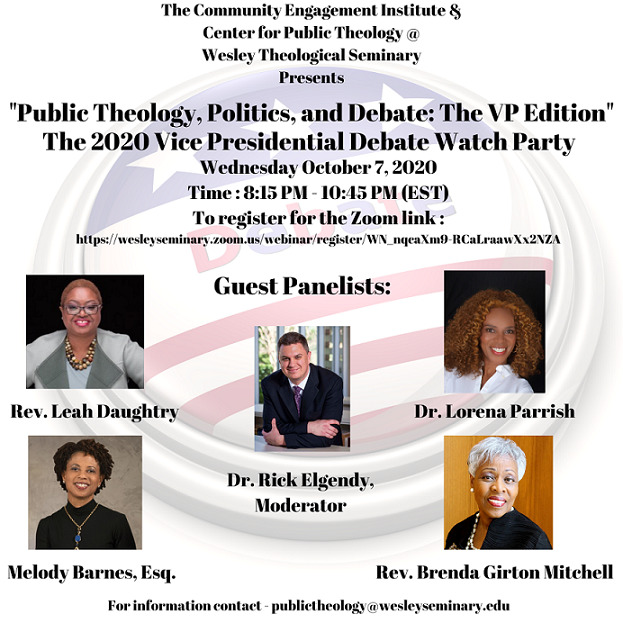 V.P. Debate Watch Party with the Center for Public Theology