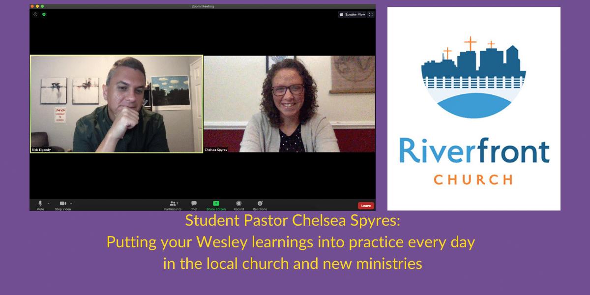 2Banner Student Pastor Chelsea Spyres