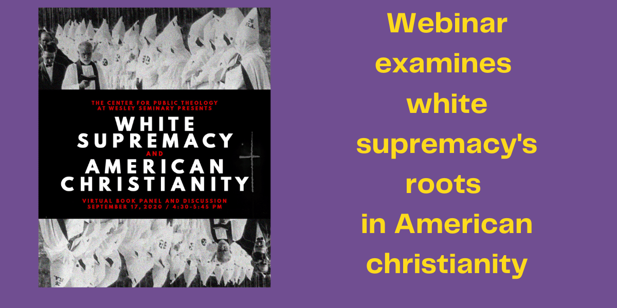 Webinar examines the white supremacy's roots of American christianity