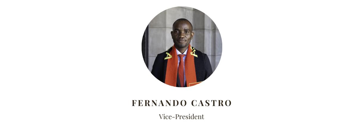 Vice President Fernando Castro