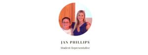 Student Representative Jan Phillips