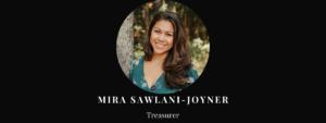 Treasurer Mira Sawlani-Joyner