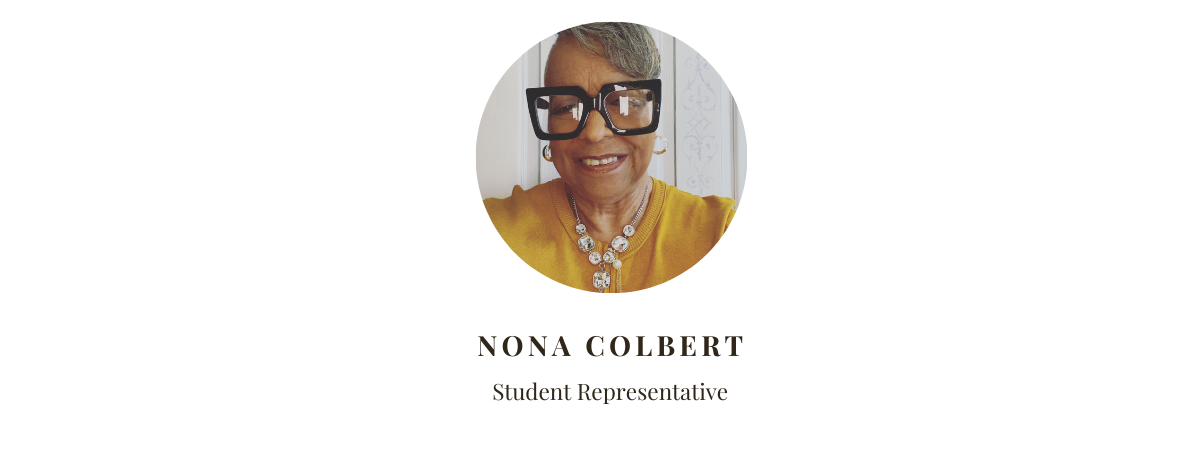 Student Representative Nona Colbert