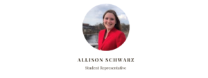 Student Rep Allison Schwarz