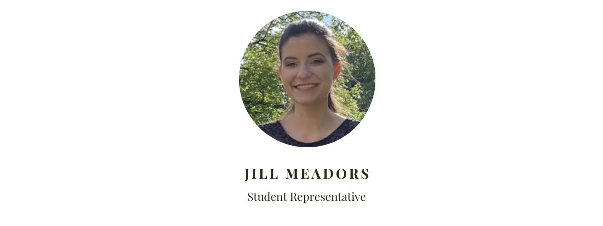 Student Rep Jill Meadors