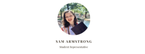 Student Council Rep Sam Armstrong