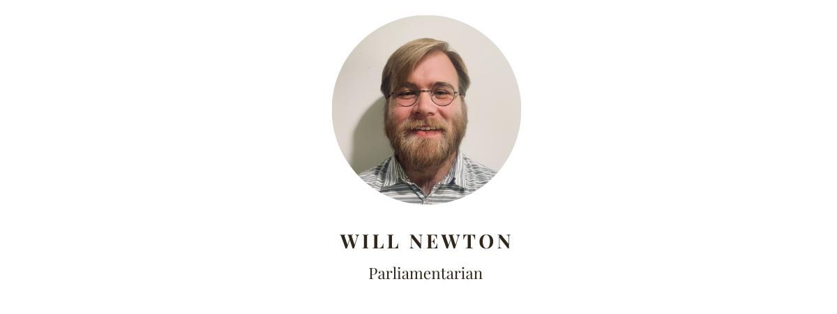 Parliamentarian Will Newton